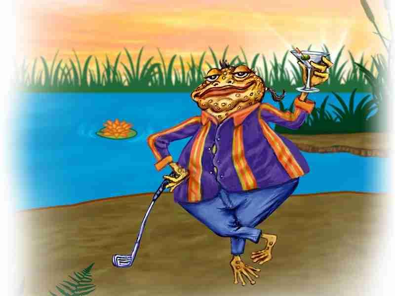 """Escapade 8 : The """"Sugar Papa"""" Toad"""