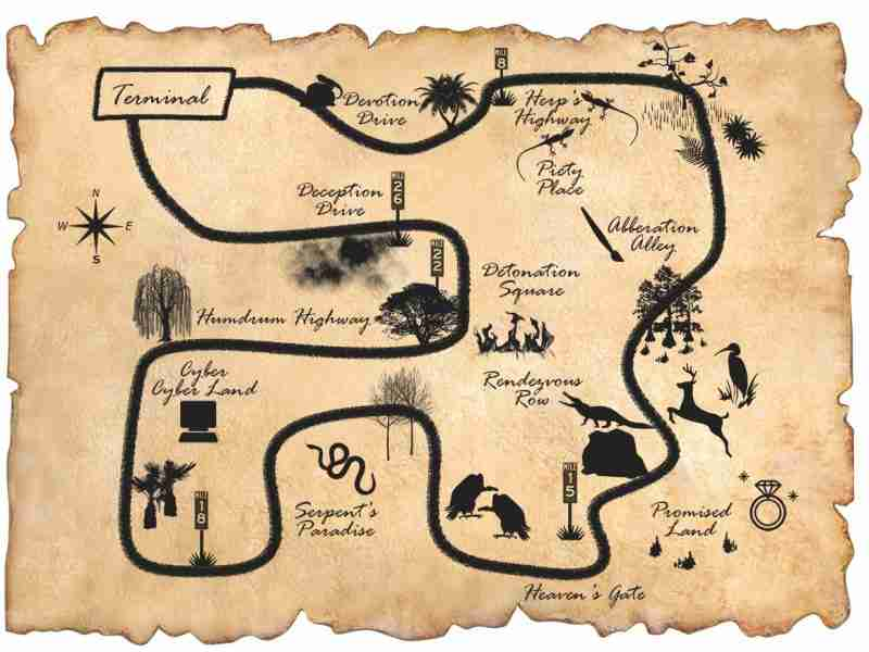 Map of the Swamps
